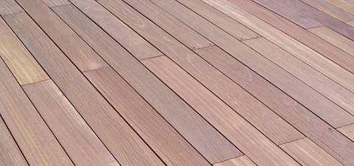 Bois Exotique ITAUBA pour Terrasses 20 mm MAROC
